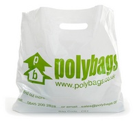 Large printed carrier bag