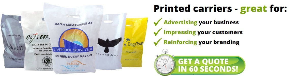 Discount Printed Carrier Bags